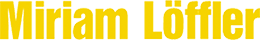 Miriam Loeffler Logo
